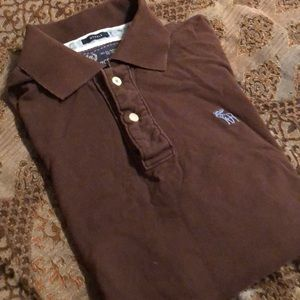 Abercrombie and Fitch sz XL ss polo shirt